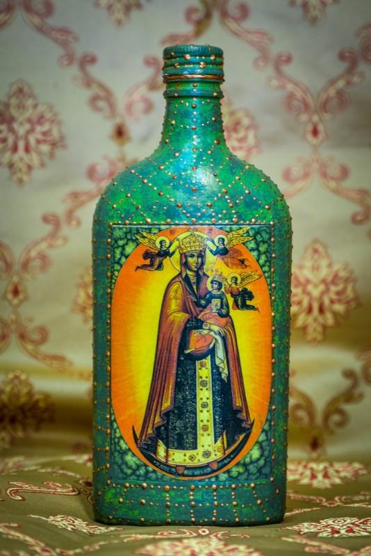 Сосуд для святой воды Благодатное небо.