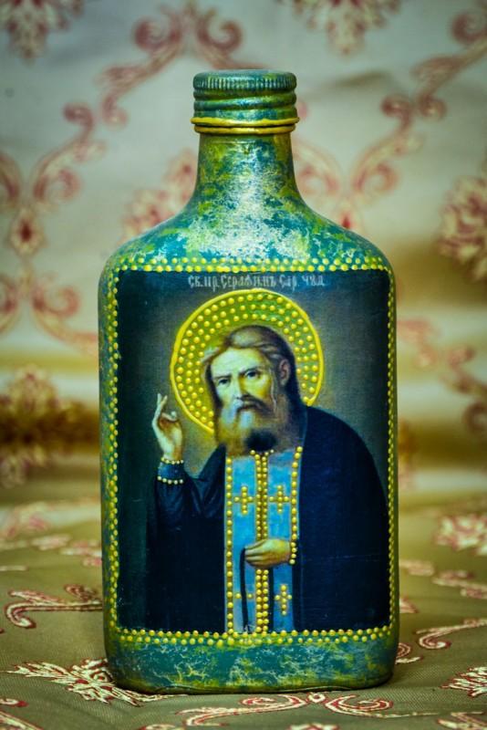 Сосуд для елея Серафим Саровский