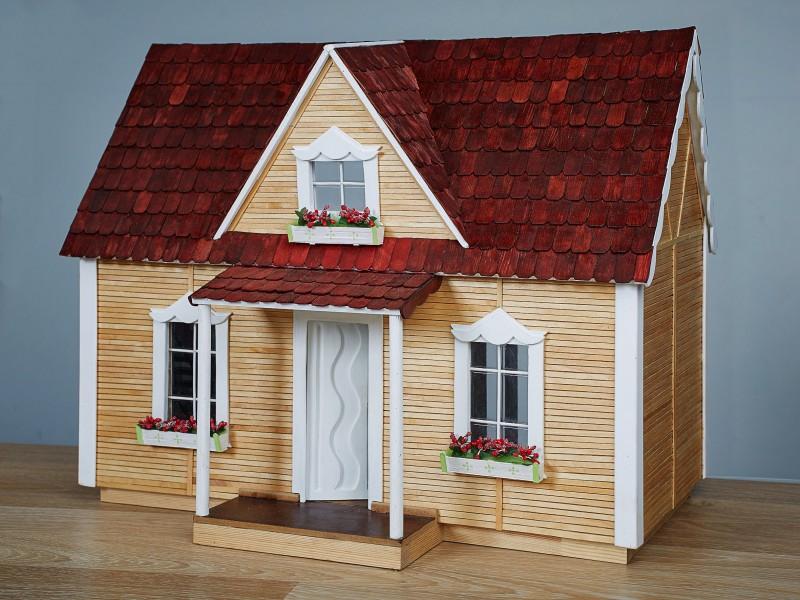 Кукольный домик Деревенский коттедж Royal Хата