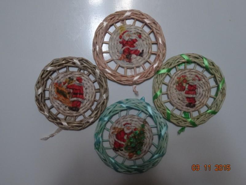 Магнит-подвеска  Рождественский медальон