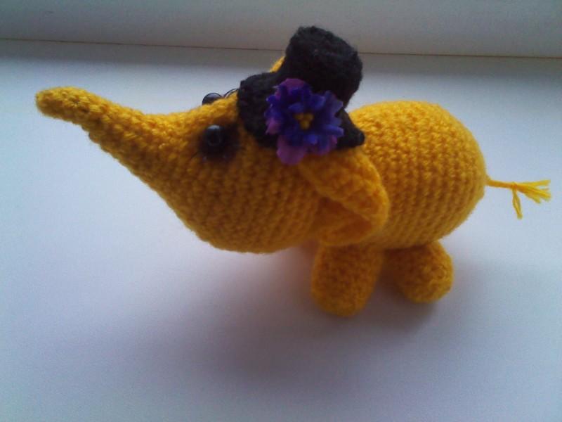 желтый слон