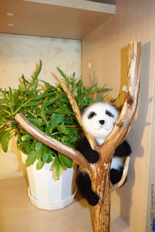 Интерьерная игрушка Панда