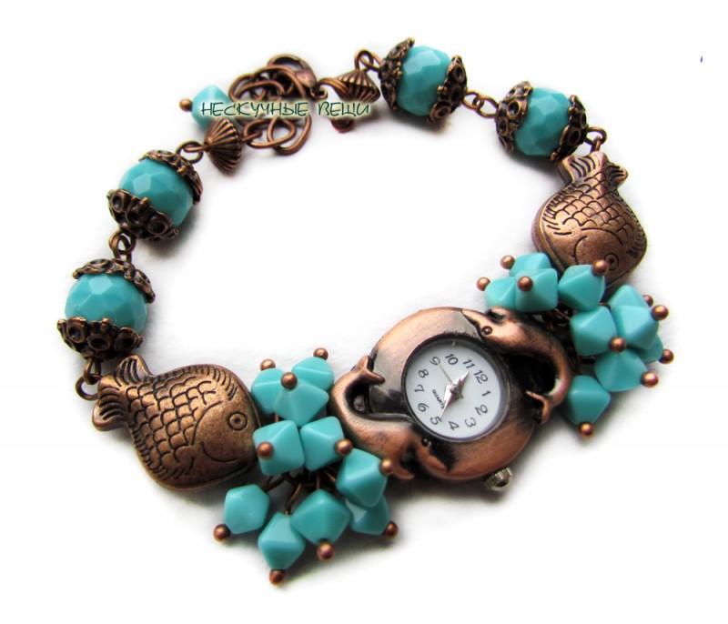 Часы Морской сувенир