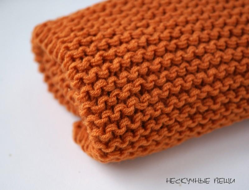 Оранжевый снуд