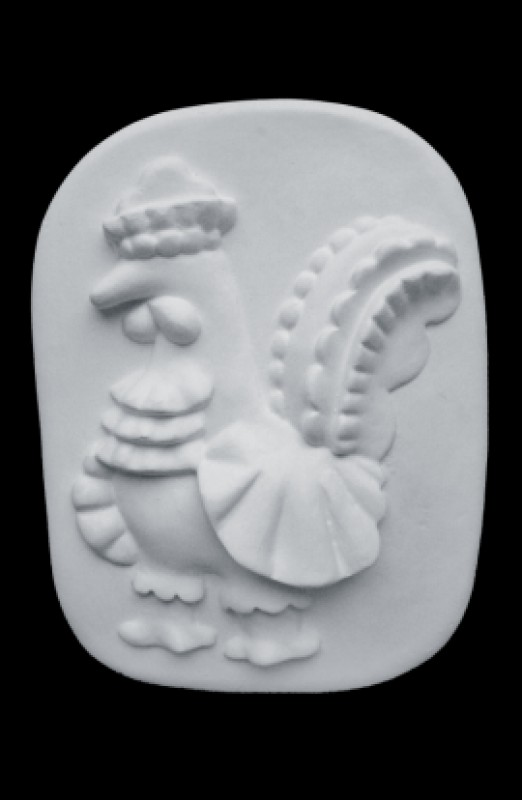 Дымковский Петух (бар.) (Д185*Ш140*В25 мм)