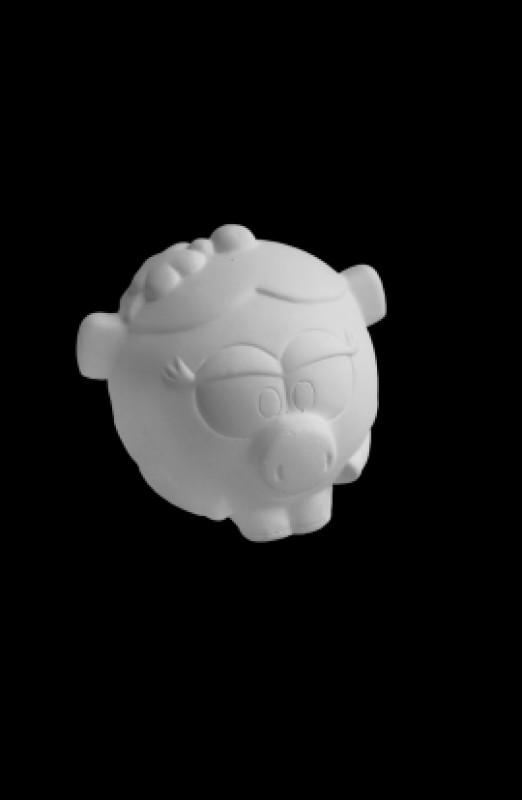 Гипсовая фигурка для раскрашивания Смешарик Нюша (Д80*Ш90*В80 мм)