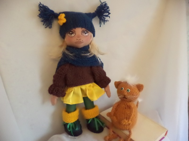 Кукла Дусенька