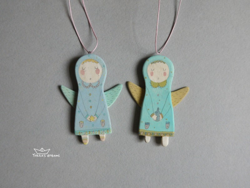 Ёлочная игрушка Ангел