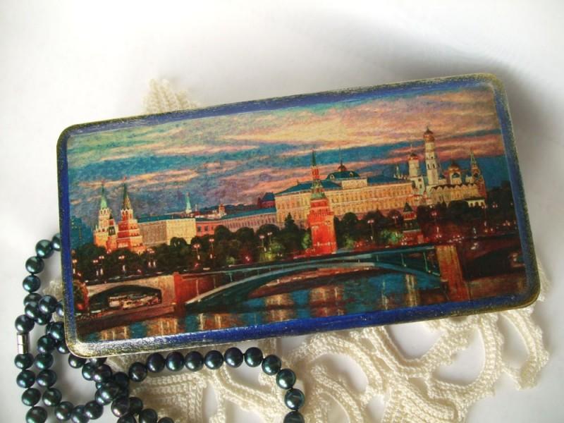 Шкатулка Рассвет над Кремлём