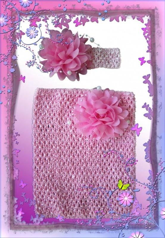 Топики и повязки для волос для девочек.