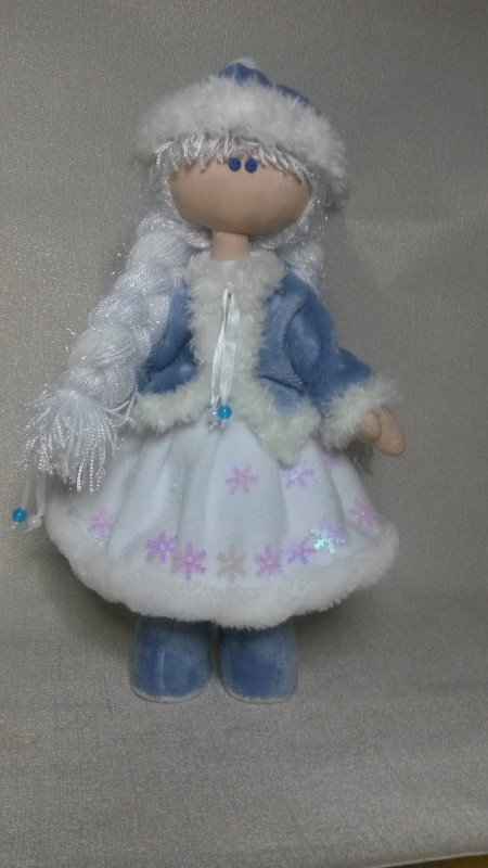 Кукла снежка Снегурочка