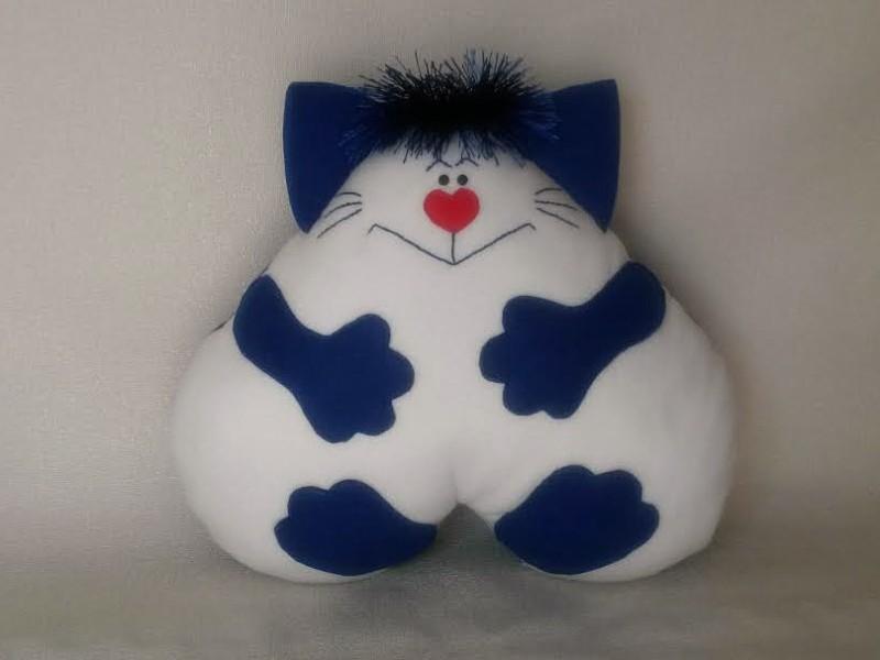 подушка-игрушка Веселый кот