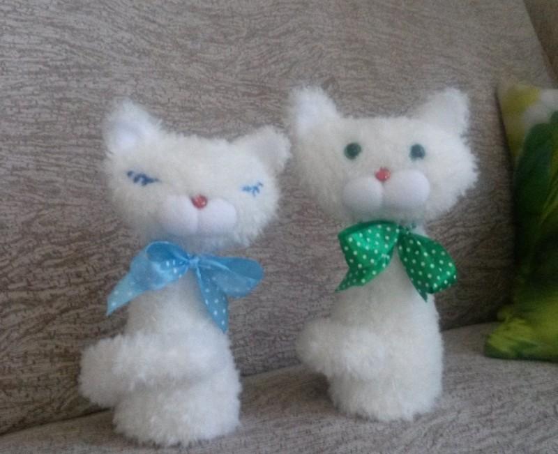 мягкая игрушка Коты