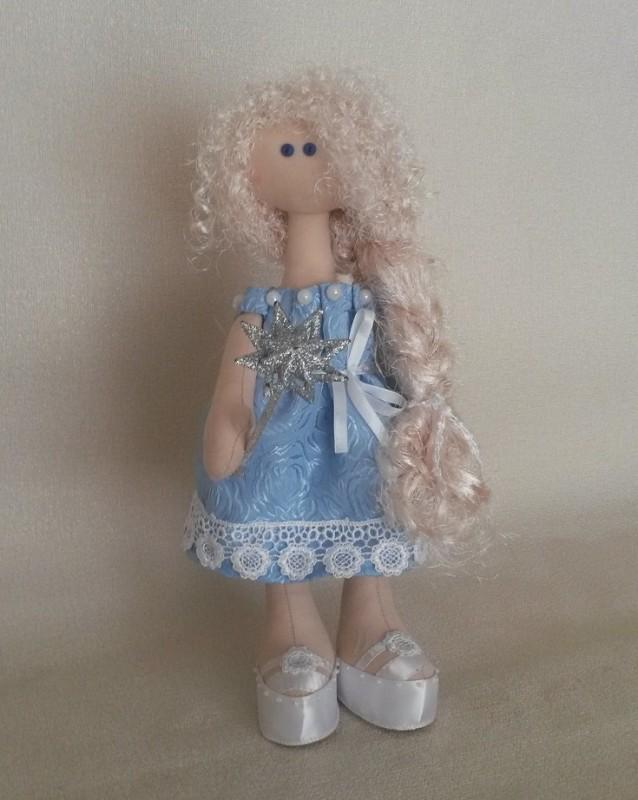Кукла снежка Зимняя фея