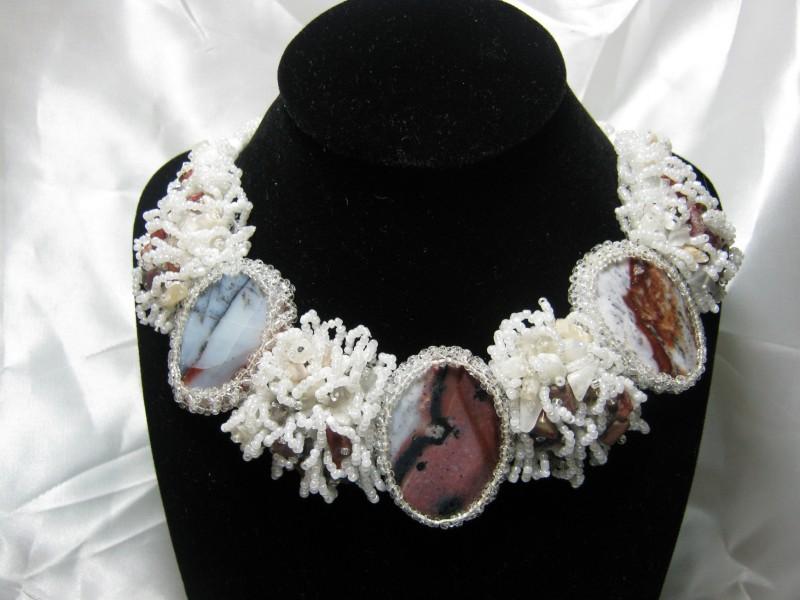 ожерелье,,Агатовое,,