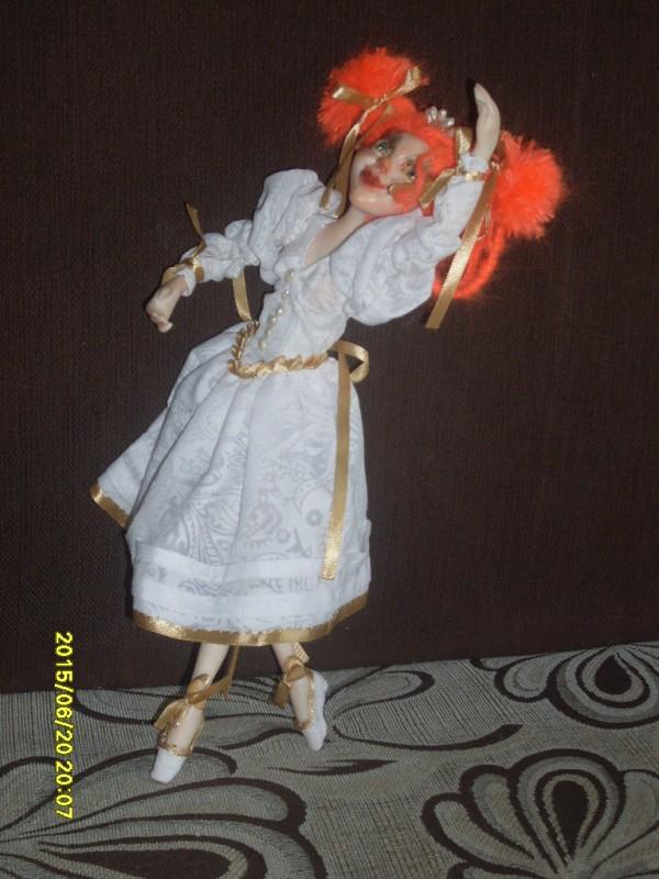 Рыжая танцовщица