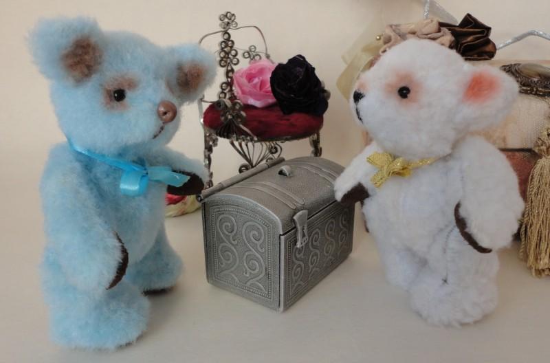 Миниатюрные мишки Тедди