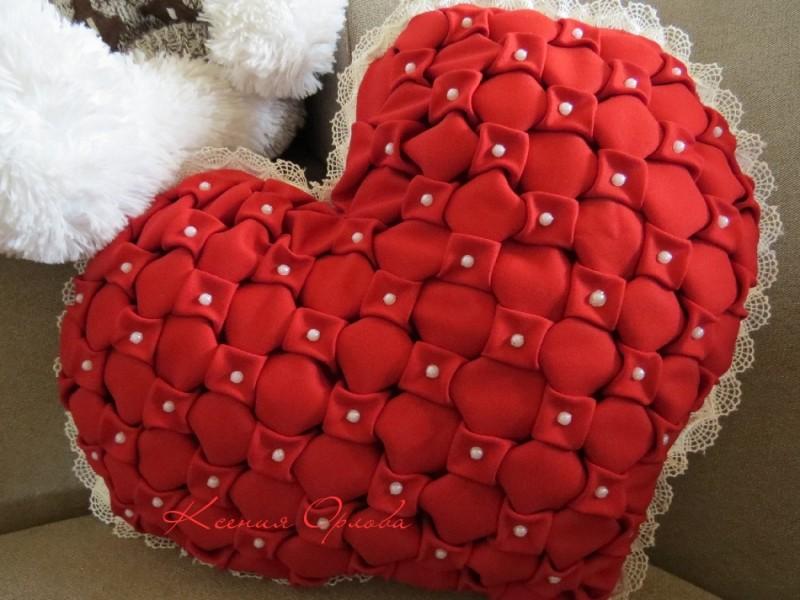 Мягкая Валентинка (подушка)