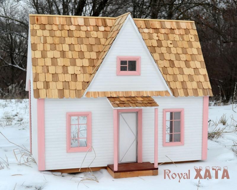 Кукольный домик Снежный