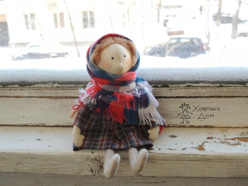 Девочка в платке