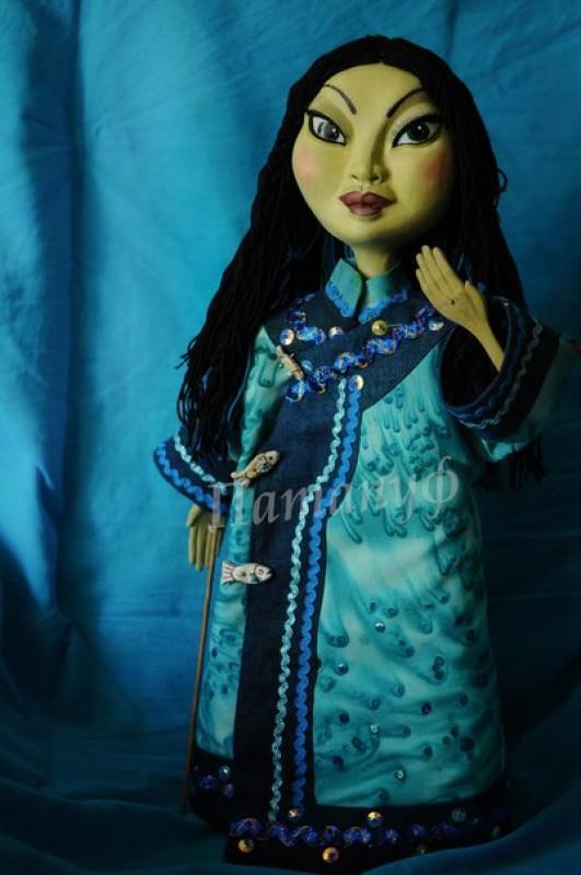 авторская кукла Амгу