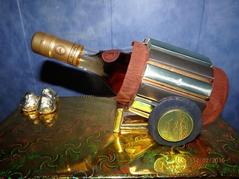 пушка из конфет