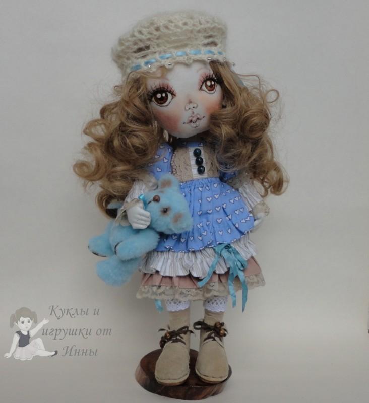 Иринка - текстильная кукла
