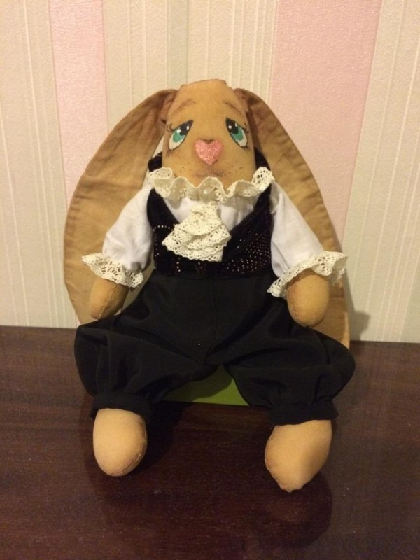 Заяц-франт
