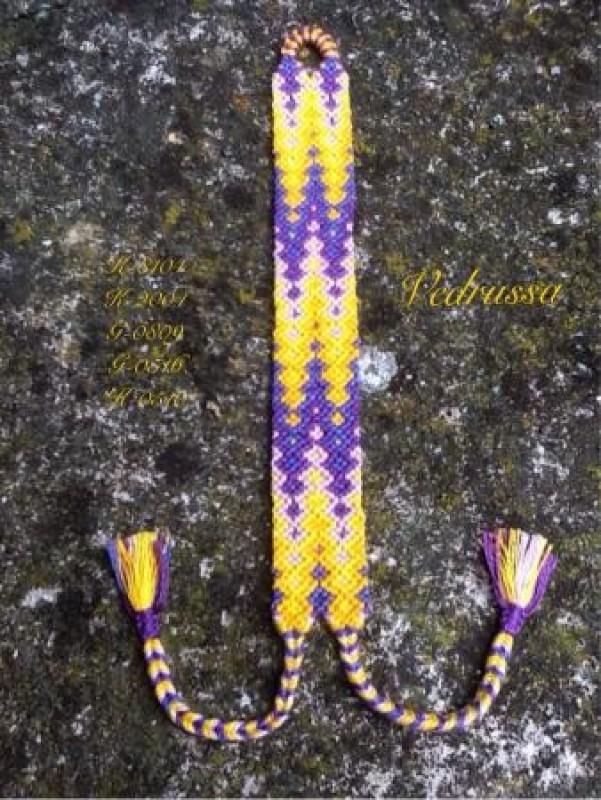 Фиолетово-желтый гейзер