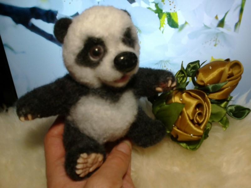 Панда - любимец взрослых и детей