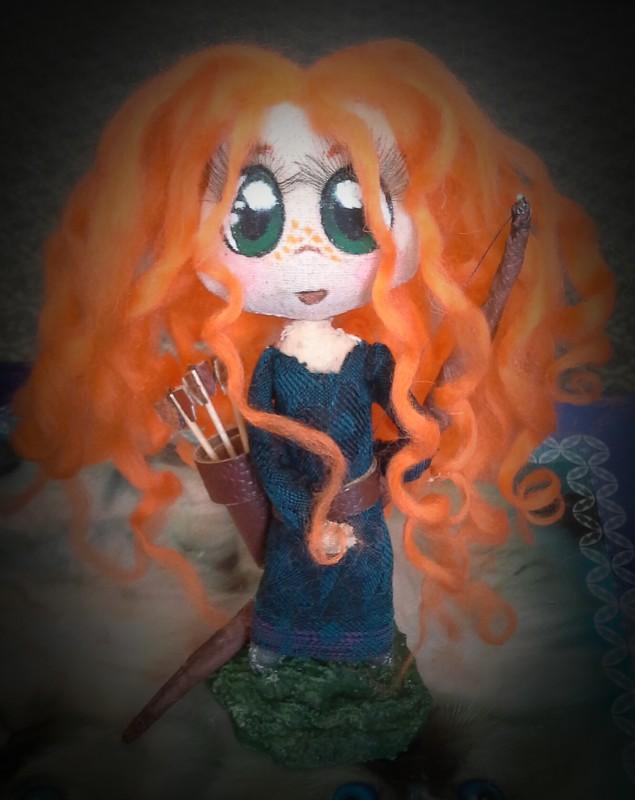 Куколка Храбрая Сердцем