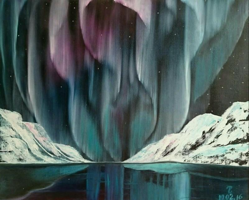 Картина Северное сияние
