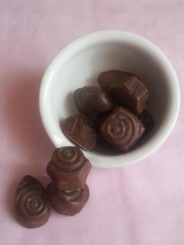 Массажные скраб-плитки Кофе и шоколод