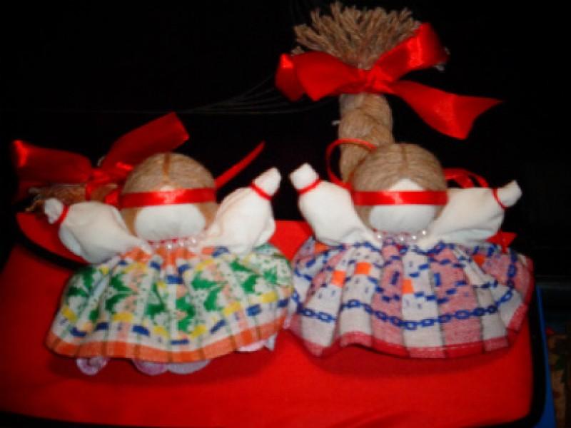 Славянская обережная куколка  На счастье