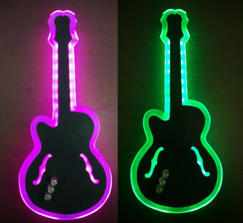 Светильник ручной работы Guitar Hero E