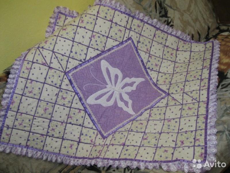 Детское одеяло  Сиреневая фантазия