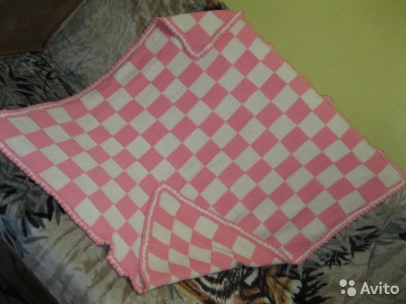 Детское одеяло Шахматная доска