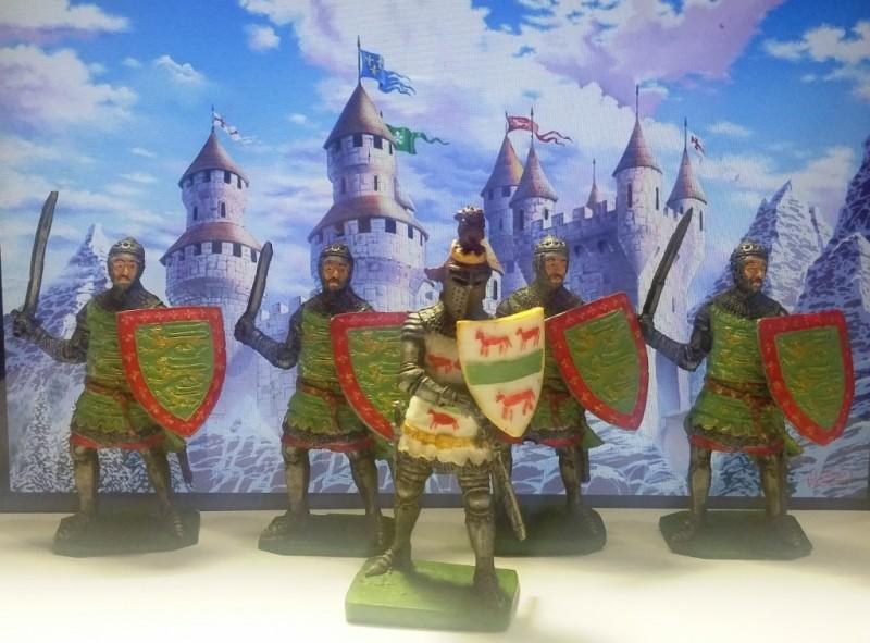 игровой набор отряд Рыцарей