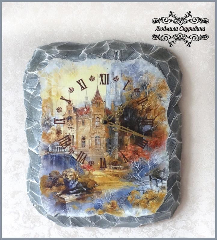 часы интерьерныеСтарый замок