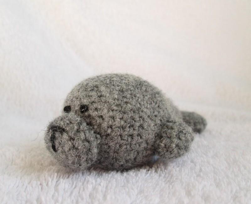 Тюлень вязаный