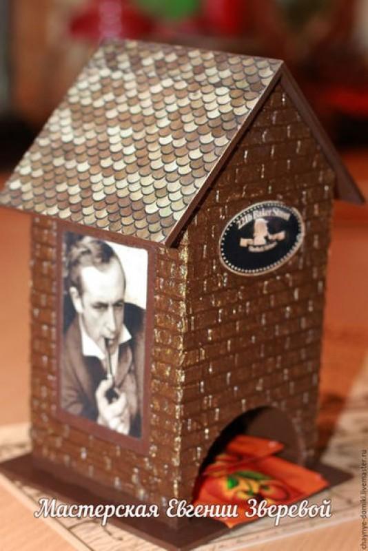 Чайный домик Шерлок Холмс и Доктор Ватсон