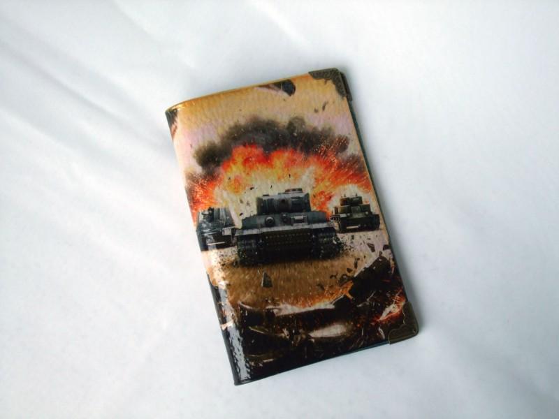 Обложна на паспорт ТанкистуНА ЗАКАЗ