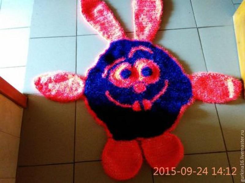 Детский коврик  Смешарик.
