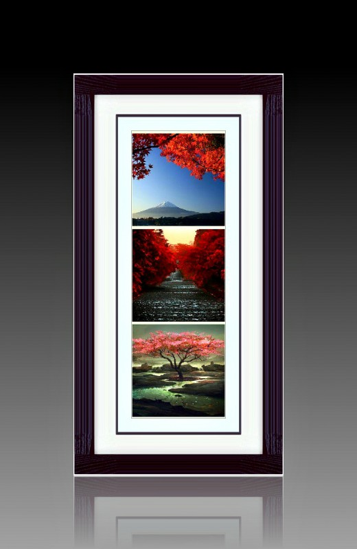 Фотоколлаж Восточная осень