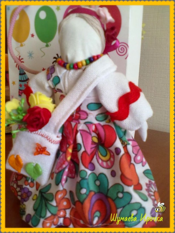 Кукла-мотанка Леля-удачница