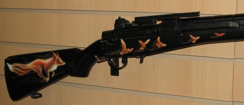 Приклад для винтовки Огненная лисица
