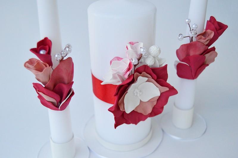 Carmine. Свадебные свечи