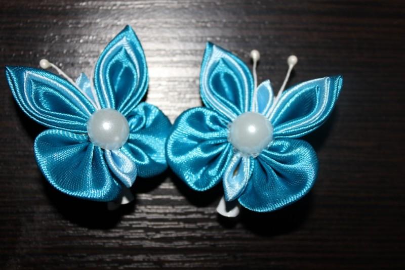 Резинки для волос Бабочки