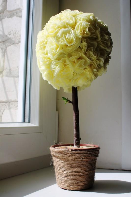 Топиарий букет роз