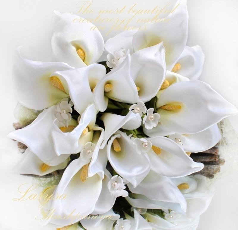 Свадебный букет «Каллы»